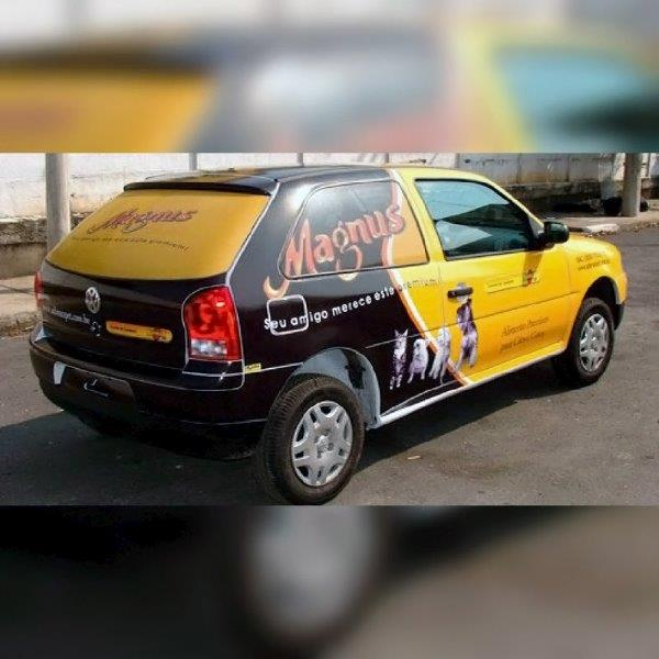 Envelopamento de carros com propaganda