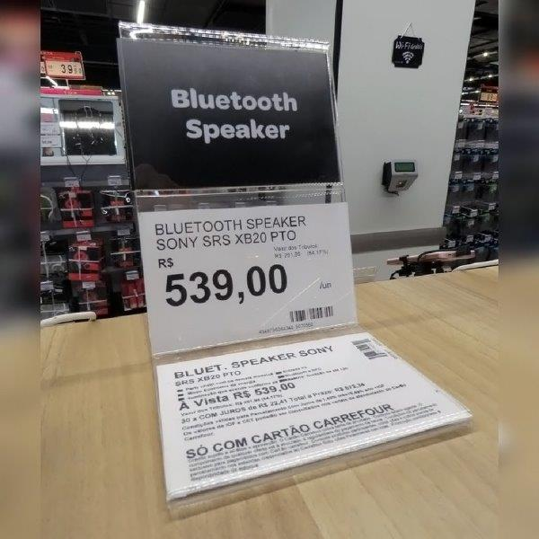 Displays personalizados preço